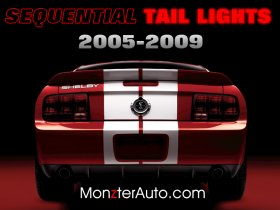 '05-'09 Mustang Sequential Tail Lights