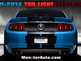 2010-14 Mustang Sequential Tail Lights