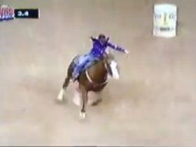 2013 NFR Barrel Racing
