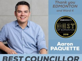 Aaron Paquette City of Edmonton Ward 4 C