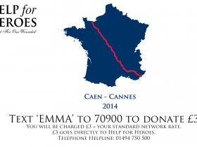 Bryn and Emma's Caen to Cannes Ride