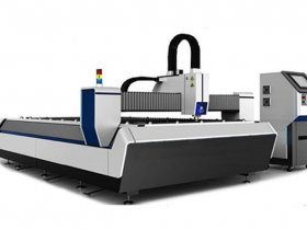 CNC Fiber Laser Cutting & Marking Machin