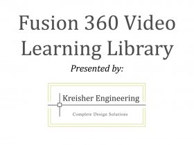 Fusion 360 Tips/Tricks