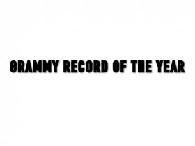 GRAMMY RECORD OF THE YEAR