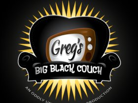 Greg's Big Black Couch