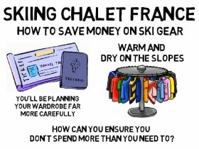 Skiing Chalet France  - How To Save Mone