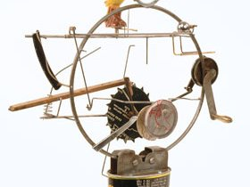 Kinetic Sculpture work form 2000 through
