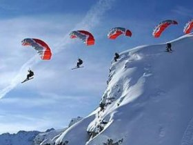 Kite Skiing Section