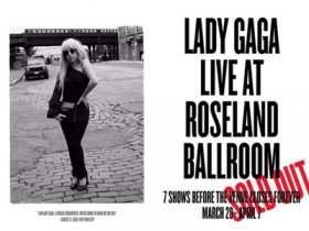 Lady Gaga - Live at Roseland Ballroom