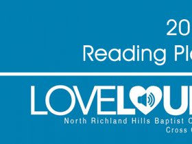 Love Loud Bible Reading Plan