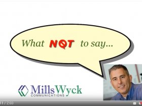 Public Speaking:  What NOT to Say