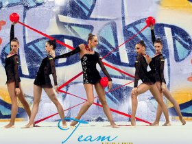 Rhythmic gymnastics art