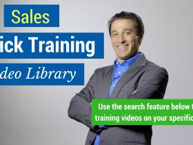 Sales Quick Video Training Library