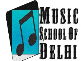 Students of Music School of Delhi