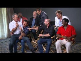 The Expendables 3 Interviews