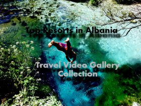 Top resorts in Albania