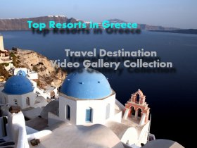 Top resorts in Greece