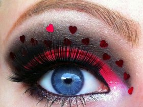 Valentines Day Makeup Tutorials and Idea